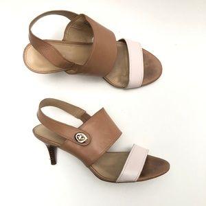 Coach Marla Open Toe Slingback Sandals